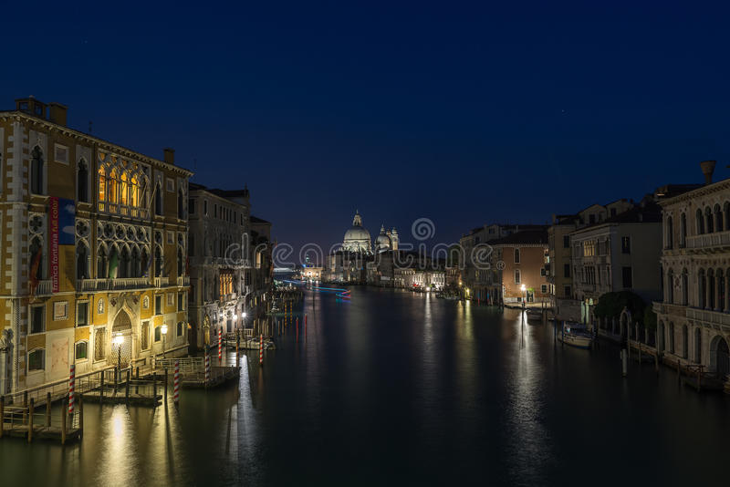 Canal grand Venise photographie stock