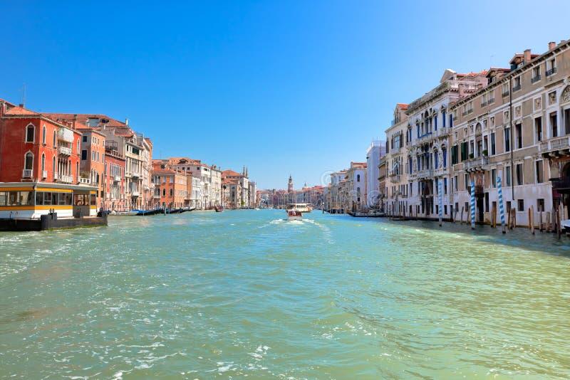 Canal grand Venise Italie images libres de droits