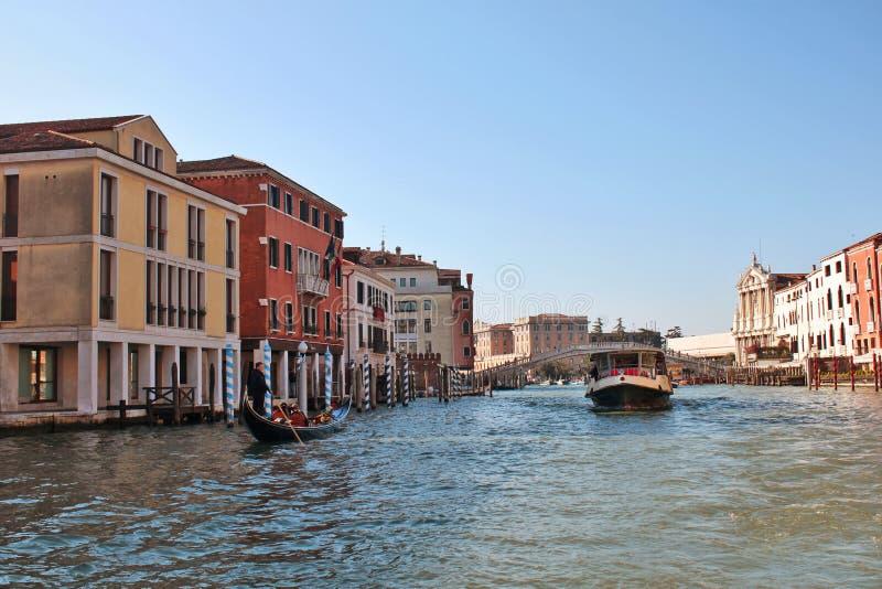 Canal grand, Venise, Italie images libres de droits