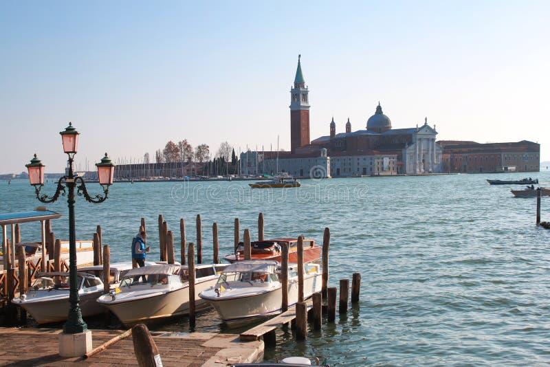 Canal grand, Venise, Italie photos libres de droits