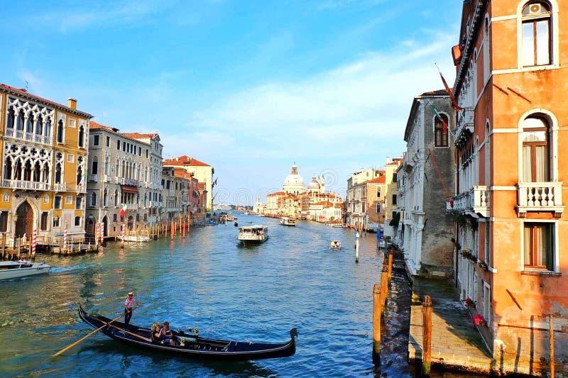 Canal Grande stockbilder