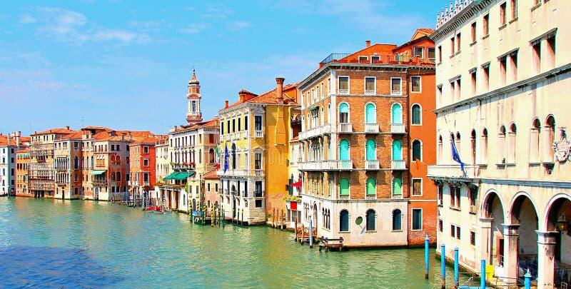 Canal grande de Veneza foto de stock royalty free