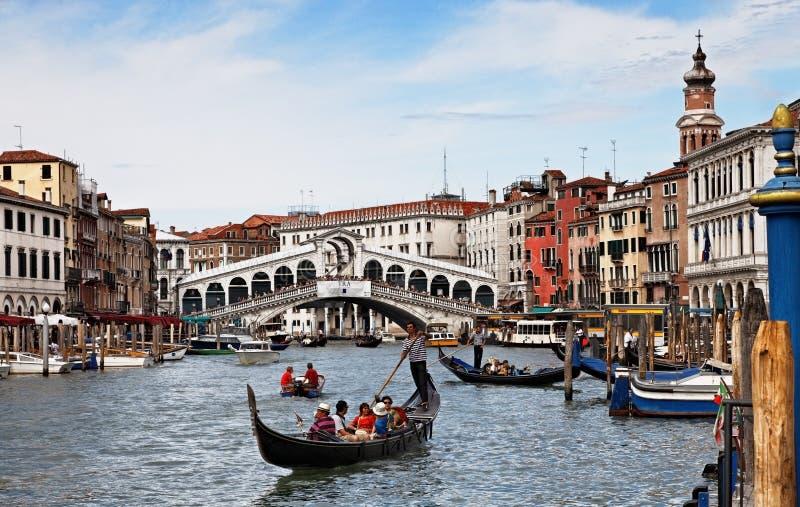 Canal grande em Veneza foto de stock royalty free