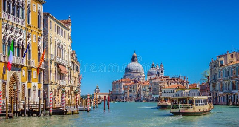 Canal Grande in Venedig, Italien lizenzfreies stockfoto