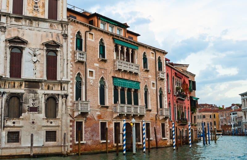 Canal grande, Veneza imagem de stock