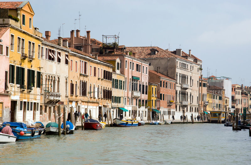 Canal grande, Veneza, Italy imagens de stock royalty free