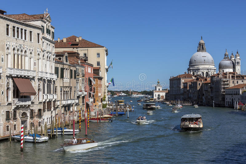 Canal grande - Veneza - Italy fotografia de stock royalty free