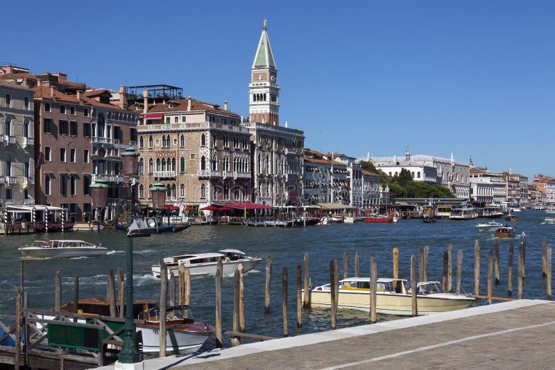 Canal grande - Veneza - Italy foto de stock