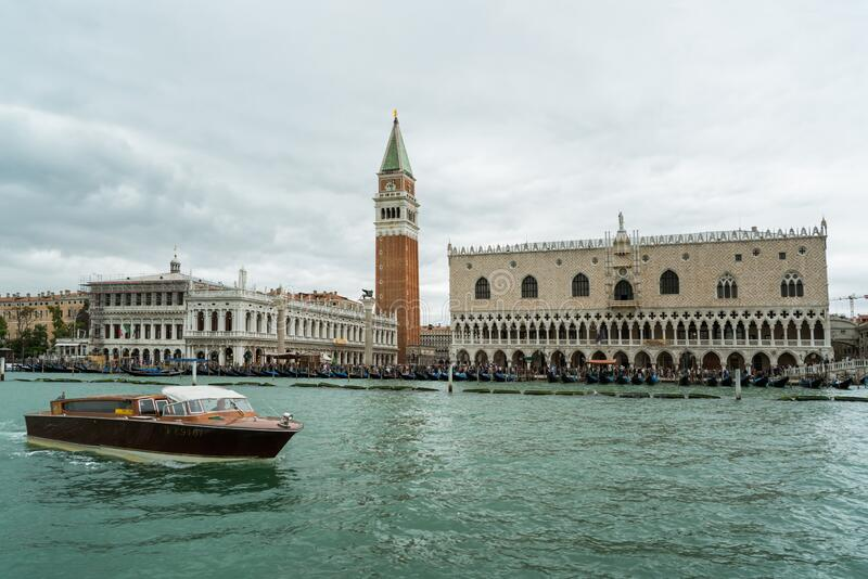 Canal Grande in Venice stock images