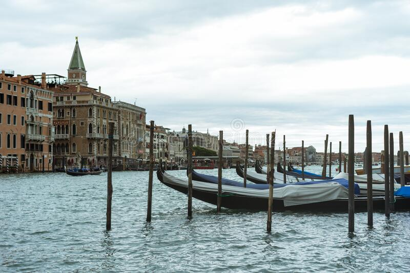 Canal Grande in Venice stock photography