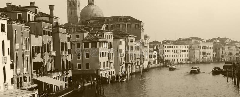 Canal grandioso em Veneza, Italy imagem de stock royalty free