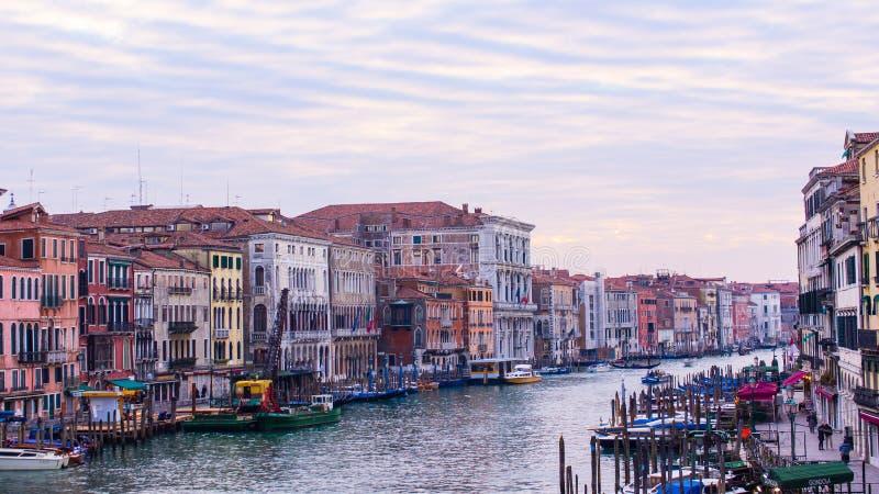 Canal grandioso, Veneza Itália fotos de stock