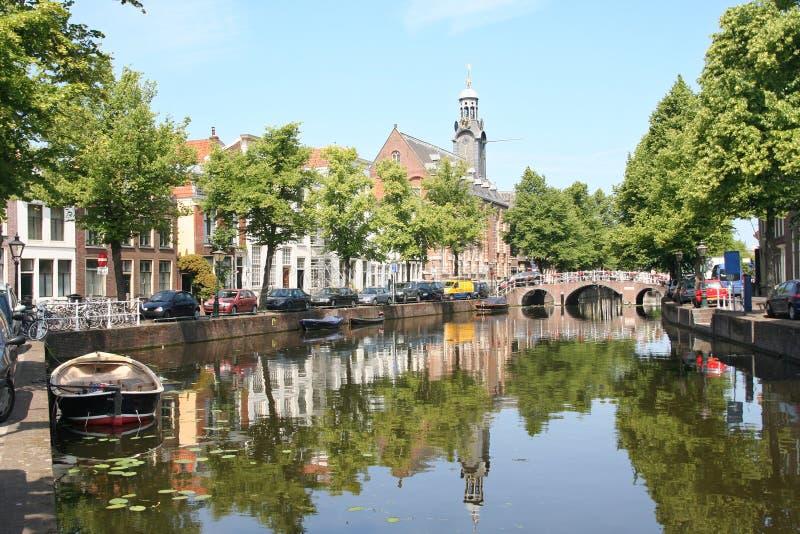 Canal holandês imagens de stock royalty free