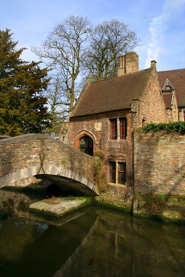 Canal House royalty free stock image