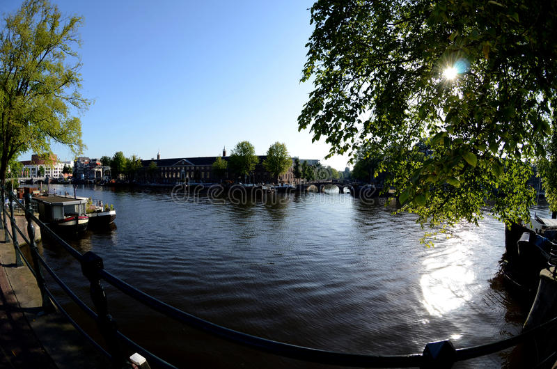 Download Canal houses in Amsterdam stock photo. Image of city - 29306342