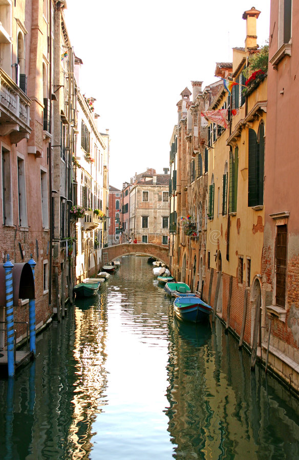 Free Canal In Venice Royalty Free Stock Photos - 682428