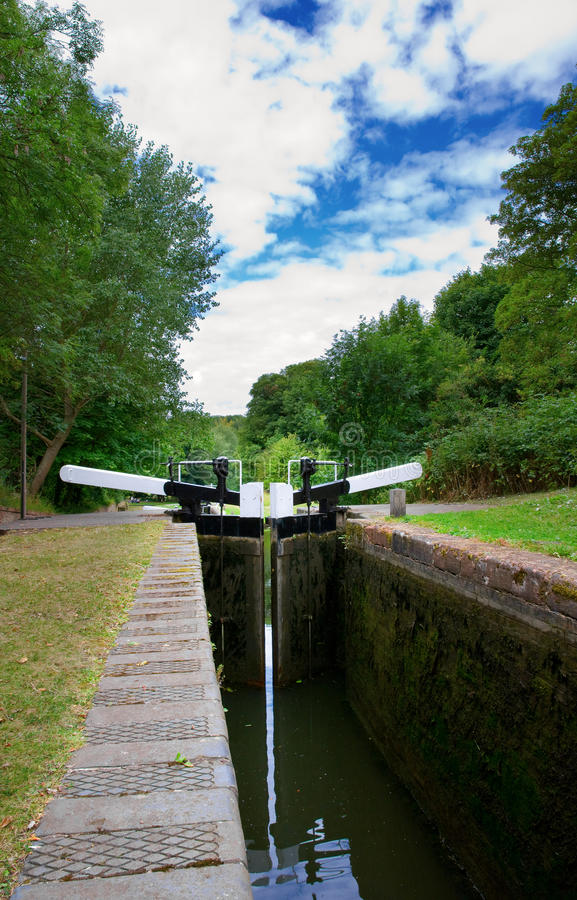 Download Canal locks stock image. Image of doors, gate, early - 20726795
