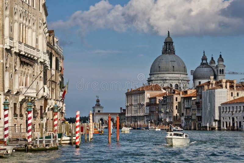 Canal magnífico de Venecia fotos de archivo libres de regalías