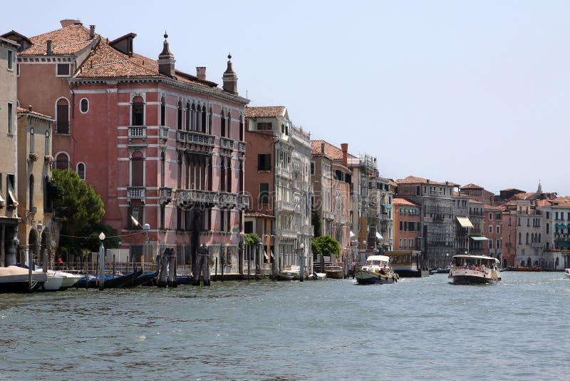 Canal magnífico en Venecia, Italia fotografía de archivo
