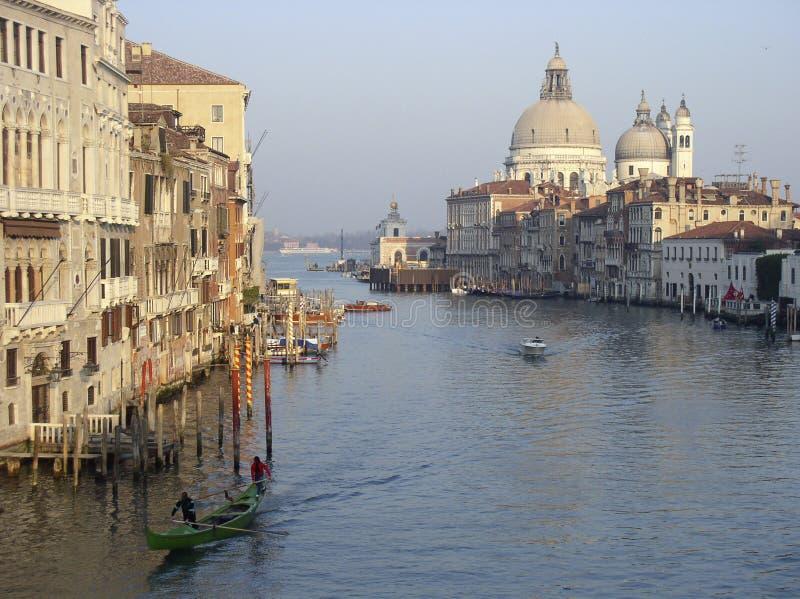 Canal magnífico, Venecia fotografía de archivo