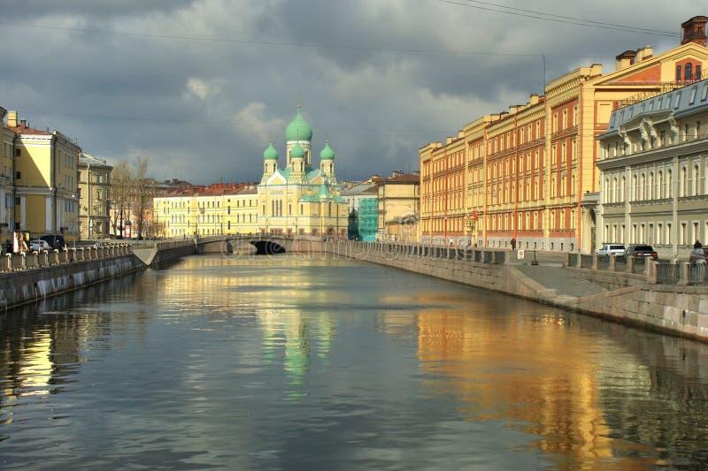 Canal Pétersbourg de Griboedov photos stock