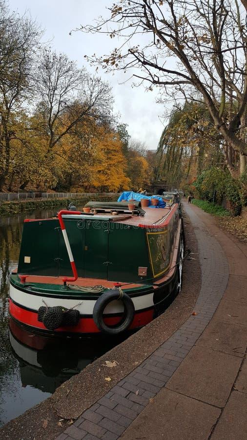 Canal regente Londres do ` s fotos de stock