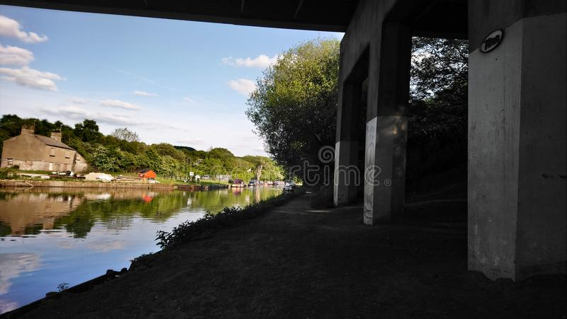 Canal view royalty free stock images