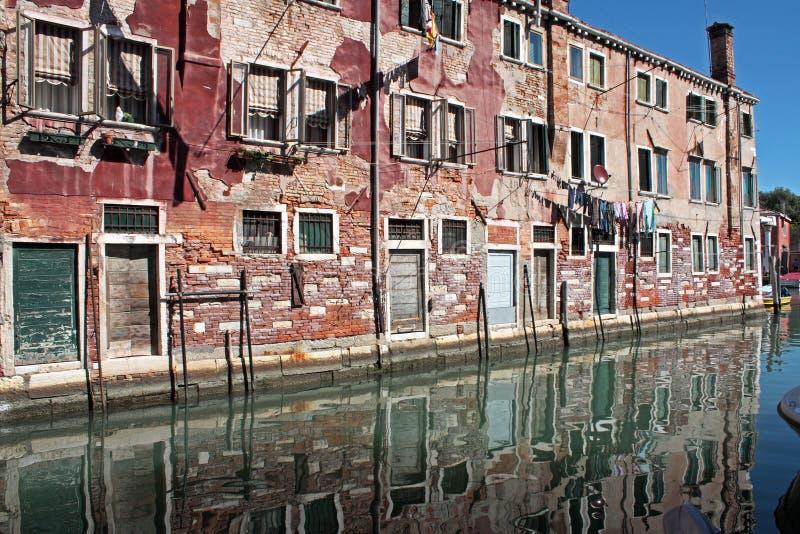 Canal veneciano imagen de archivo