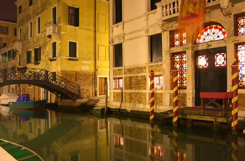 Canal Venetian imagens de stock royalty free