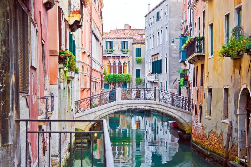 Canal Venetian fotos de stock royalty free