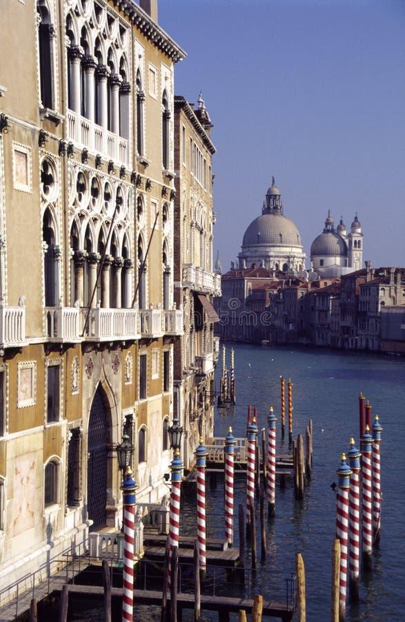 Canal Veneza grandioso Italy fotos de stock royalty free
