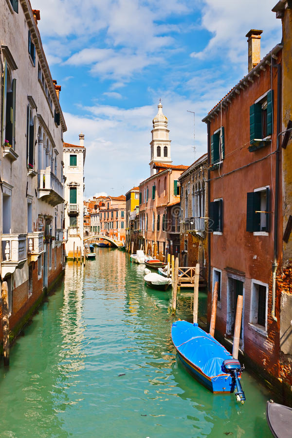Download Canal in Venice stock photo. Image of architecture, canal - 15036724