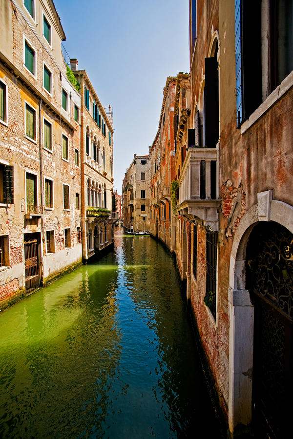 Download Canal in Venice stock photo. Image of place, canal, europe - 20053216