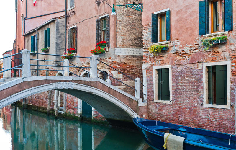 Download Canal in Venice stock image. Image of square, brick, europe - 25468523