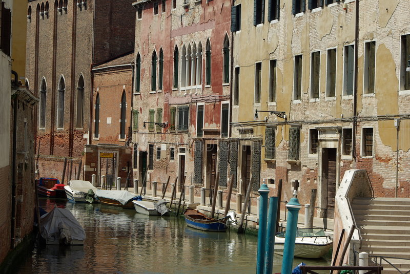 Download Canal in Venice stock photo. Image of ripple, building - 5411086