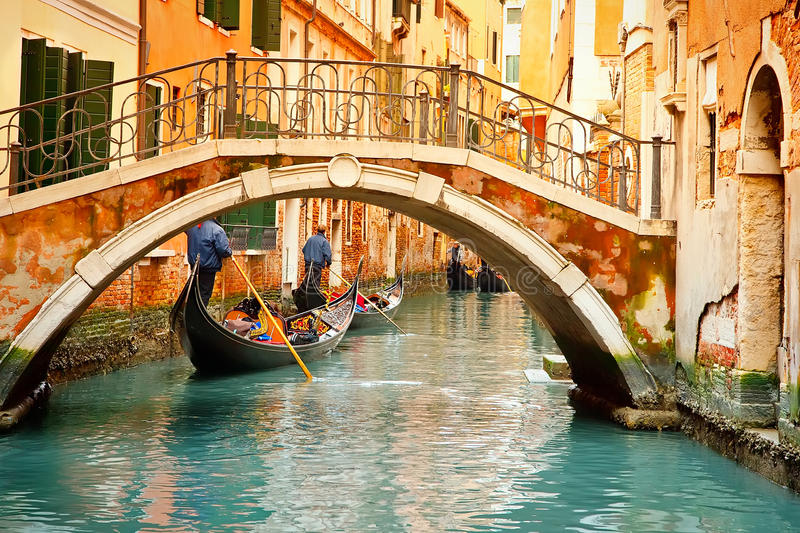 Download Canal in Venice stock image. Image of history, boat, canal - 38789493