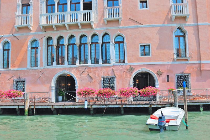 Download Canal of venice, italy stock image. Image of house, gran - 22821869