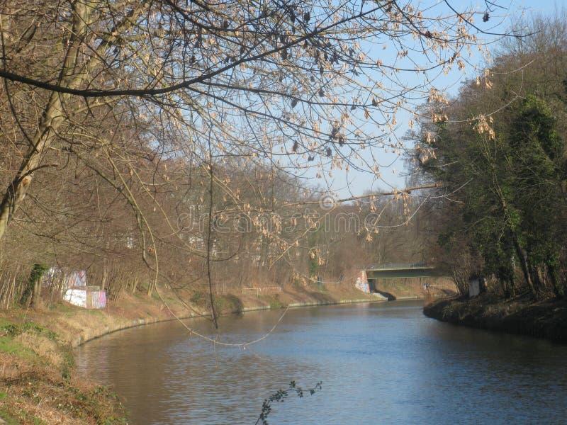 Canale Berlino immagine stock