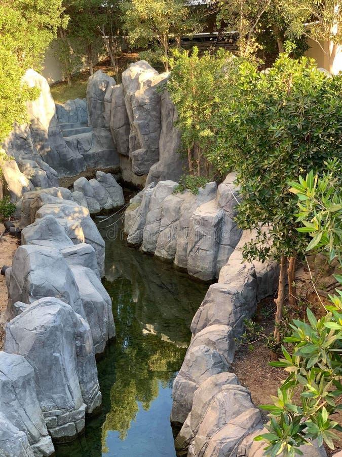 Canale del fiume immagine stock libera da diritti