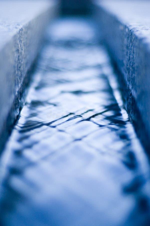 Canale dell'acqua fotografie stock