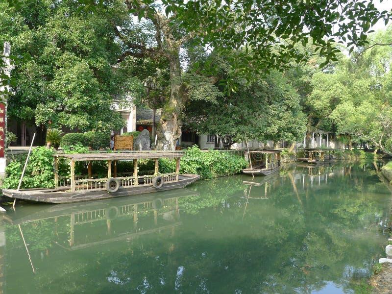 Canale di Linqu fotografia stock libera da diritti