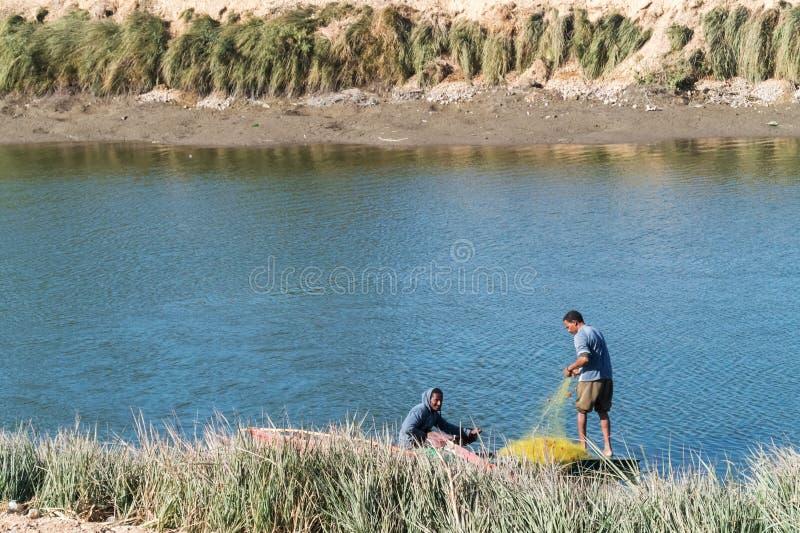 Canale di Nilo fotografie stock