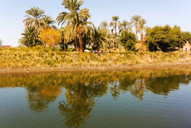 Canale di Nilo fotografia stock