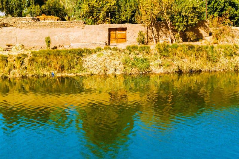 Canale di Nilo fotografie stock libere da diritti