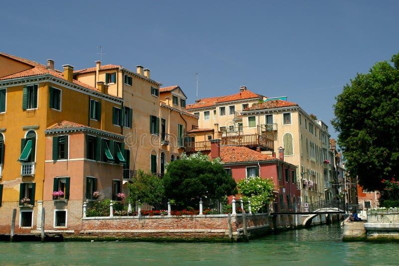 Canale di Venezia immagini stock