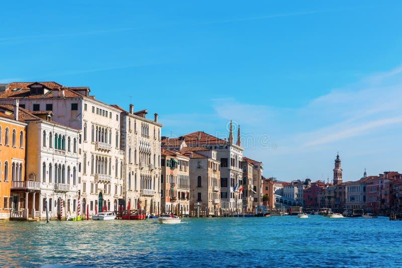 Canale groß in Venedig, Italien lizenzfreies stockbild