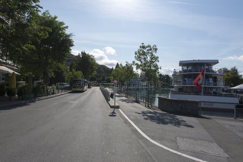 Canale marittimo di Thun fotografia stock