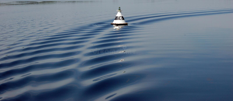Canale navigabile immagini stock