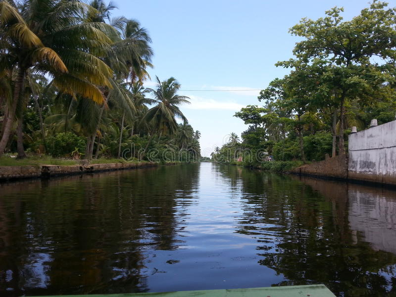 Canale olandese Sri Lanka immagine stock