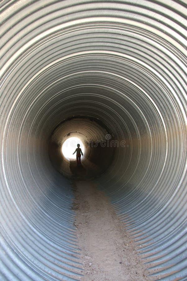Canale sotterraneo immagini stock